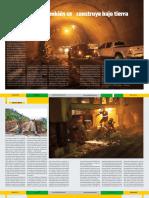 Colombia también se construye bajo tierra