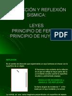 LEY SNELL PRINCIPIO DE HUYGENS Y FERMAT