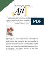 EL AJI DULCE Y EL PICANTE