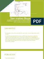 San mateo Boyacá