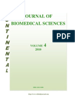 Table of Contents - Continental J. Bio Medical Sciences _Vol 4, 2010