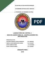 5. LABORATORIO 05 - CONTROLADORES PID-SINTONIZACION