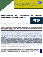 certificacion de hospitales en mexico