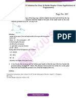 NCERT Solution for CBSE Class 10 Maths Chapter 9 Some Applications of Trigonometry (1)
