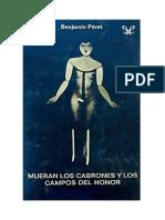 Peret Benjamin - Mueran Los Cabrones Y Los Campos Del Honor