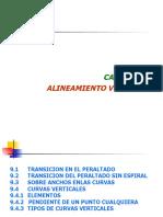 Cap IX ALINEAMIENTO VERTICAL