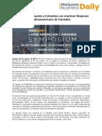 primer Simposio Latinoamericano de Cannabis