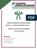 OBJETIVOS DE LA EVALUACIÓN DEL DESEMPEÑO