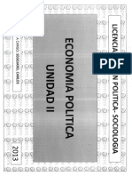 Unidad II Economía Política