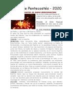 #YO CELEBRO PENTECOSTÉS EN CASA