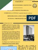 ARQUITECTURA DE LOS AÑOS 40