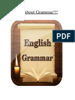 All about grammar - Basic Grammar