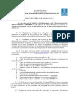 Res-89 Novas Normas para Ingresso de Estrangeiros e Form
