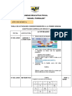 FICHA DE ADAPTACION CURRICULAR