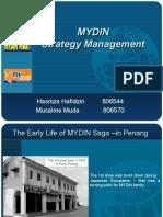 Group Presentation - Strategic Management