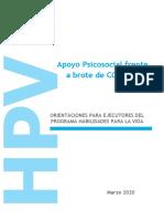 Orientaciones HPV COD 19