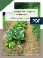 Dossier Cadeau Saine Abondance - Lasagnes Potager