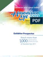 Sales Prospectus 2011