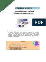 Conceptos, organización de datos, ejercicios para practicar