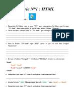 Série N1 HTML