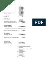 Wind Excel sheet IS 800