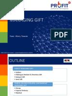 Modul 8 - Managing Gift