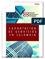 LA Referencias Cámara Ccio Btá 2019 Guía proceso exportación de servicios en Cbia