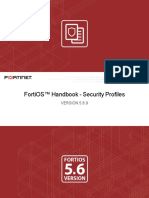 Security Profiles for FortiOS 5.6