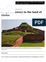 Scope of history in the land of rivers | The Daily Star
