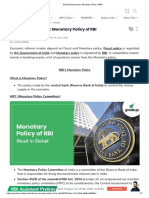 Banking Awareness_ Monetary Policy of RBI