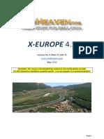 SimHeaven X-Europe Manual v4.5.1