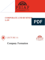 Lecture 11-Corporate and business law