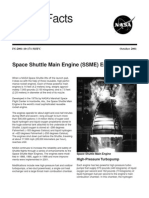 NASA Facts Space Shuttle Main Engine (SSME) Enhancements 2001