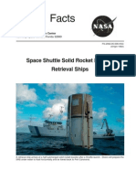NASA Facts Space Shuttle Solid Rocket Booster Retrieval Ships 2002