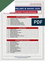 AIR listing 2020