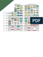 Class Schedule first and third sem 2015-16
