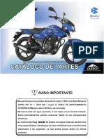 BAJAJ XCD 125 CATALOGO PARTES