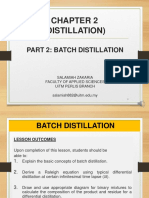 CHAPTER 2_DISTILLATION_PART 2_BATCH DISTILLATION