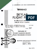 Reference Skylab Flight Plan, SL-1 SL-2, SL-3, And SL-4 (April 30, 1973 SL-1 Launch)