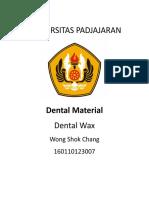 Dental wax (1).doc