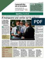 L'Yonne Républicaine finale Coupe de Bourgogne 2017