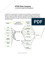 METRO Shoe Company_Supply_Chain_Management_Assignment