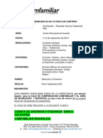 COMUNICADO 001 COPA 2019