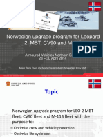 norwegian army upgrades
