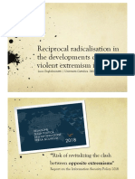 Reciprocal radicalisation in the developments of violent extremism in Italy
