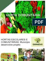 HORTA COMUNITÁRIA.ppt
