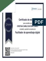 FACILITADOR DE APRENDIZAJE DIGITAL
