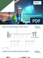Webinar Calidad de Energía Siemens - Banco vs Filtros