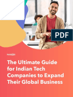 The Ultimate Guide for Indian Tech Companies to Expand Their Global Business