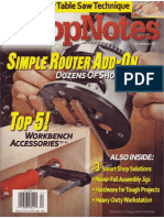 ShopNotes #104 (Vol. 18) - Simple Router Add-On